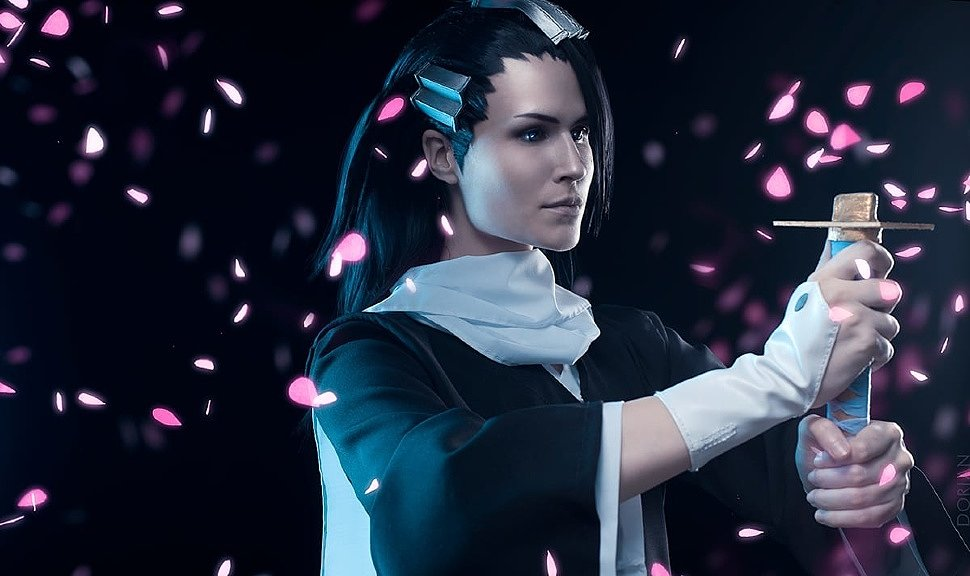 Russian Cosplay: Byakuya Kuchiki (Bleach)