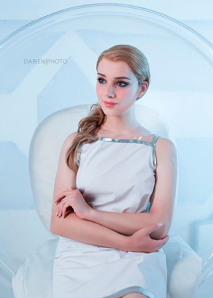 Russian Cosplay: Chloe (Detroit: Become Human)