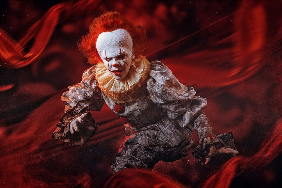 Russian Cosplay: Pennywise (It) by Kagami Jiro