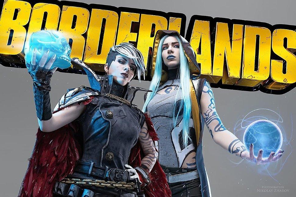 Russian Cosplay: Maya & Tyreen (Borderlands 3) by Sallozare & Felidae