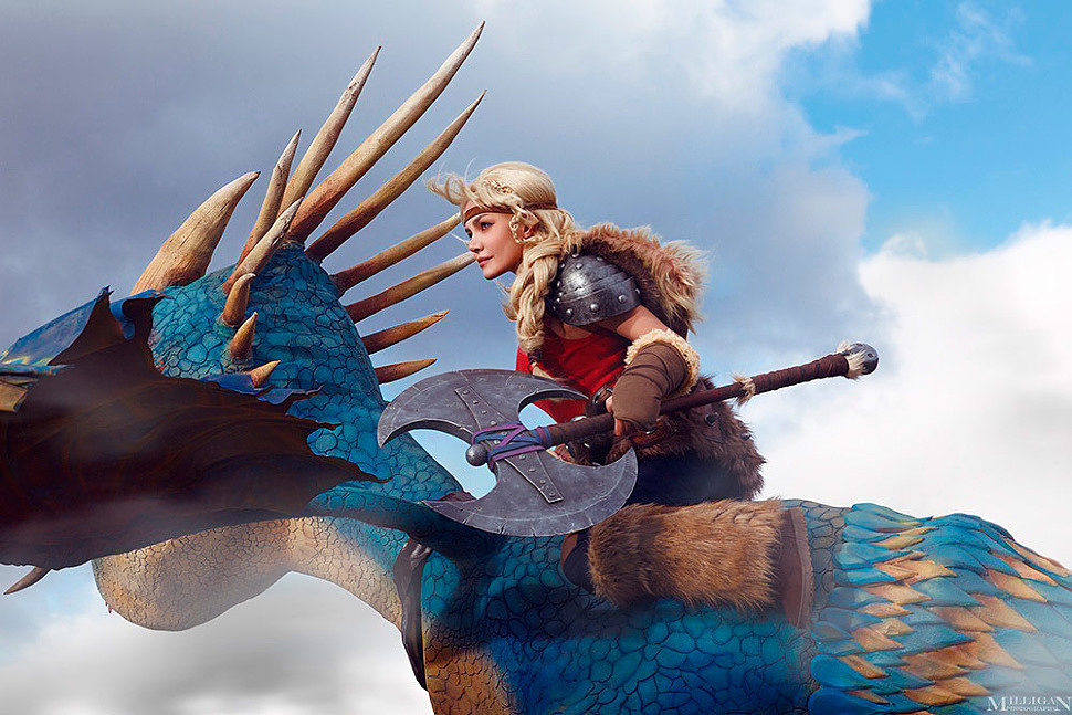 Russian Cosplay: Astrid (How to Train Your Dragon) by Kalinka Fox