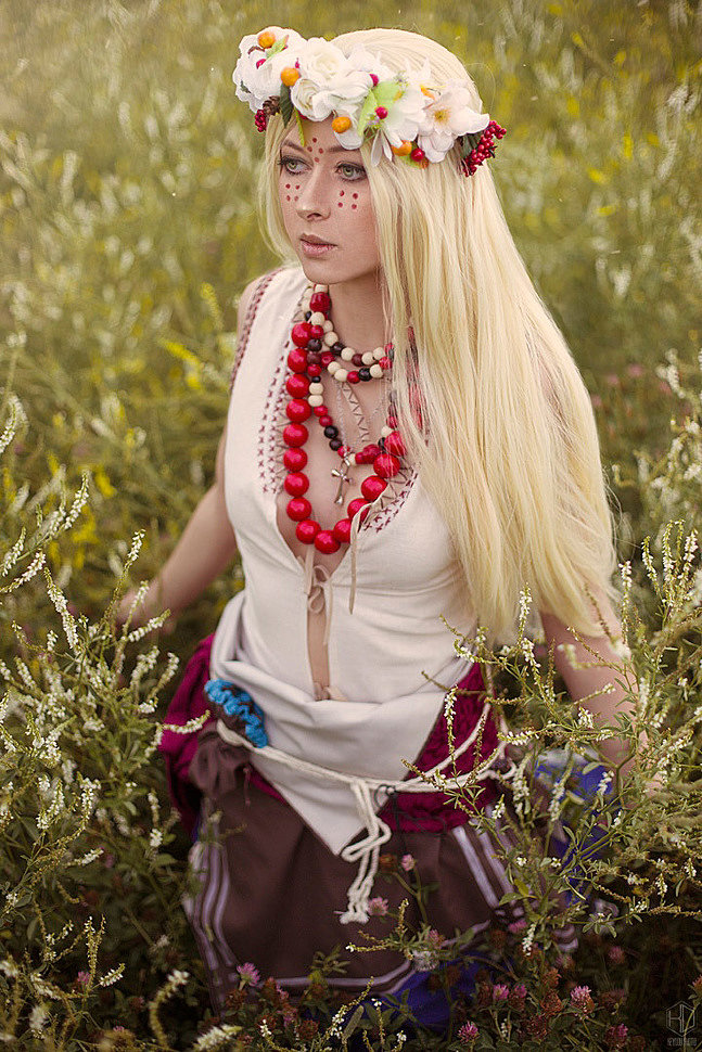 Russian Cosplay: Keira Metz (The Witcher 3. Gwent card) by Anhell Rin