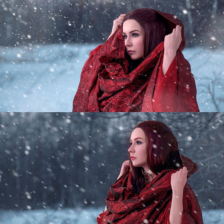 Russian Cosplay: Melisandre (Game of Throne)