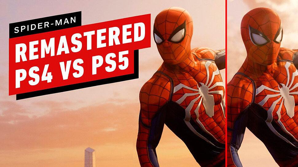 [Fun Video] Marvel's Spider-Man Remastered: PS4 Pro vs PS5 Graphics Comparison