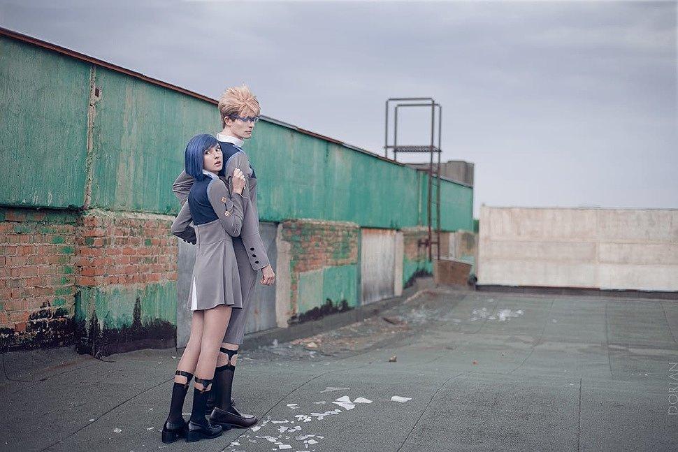 Russian Cosplay: Ichigo & Goro (Darling in the Franxx)