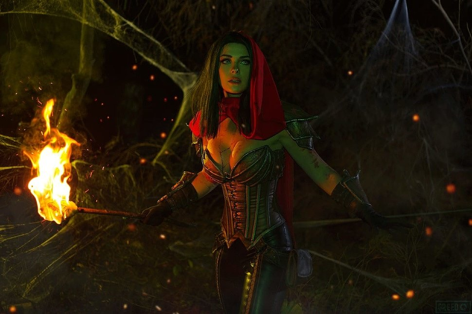 Russian Cosplay: Demon Hunter (Diablo 3) by Irina Meier