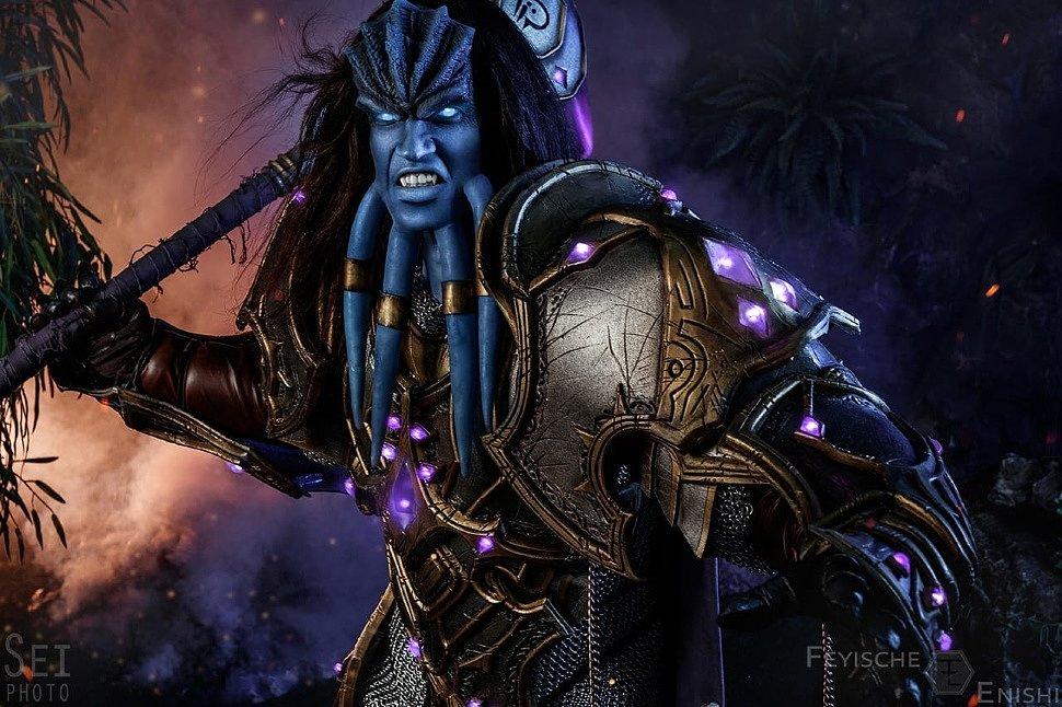 Russian Cosplay: Vindicator Maraad (World of Warcraft)