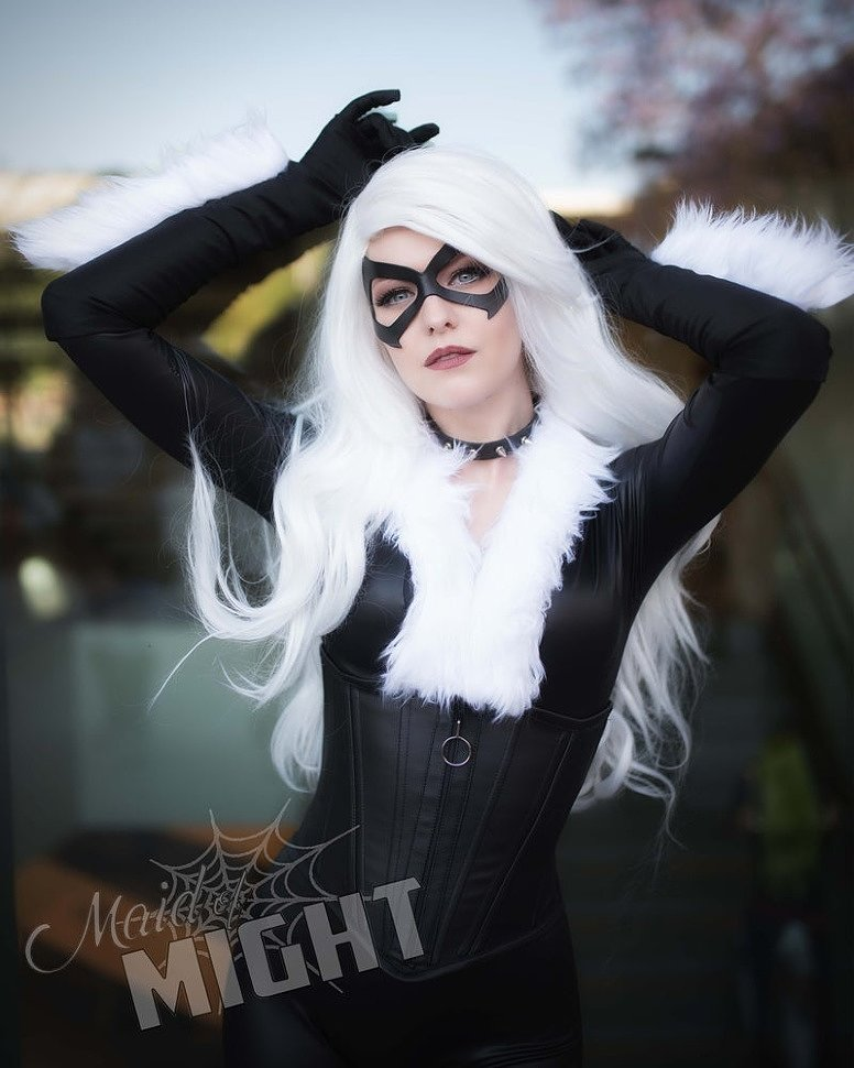 Cosplay: Black Cat (Marvel Comics) by maidofmight