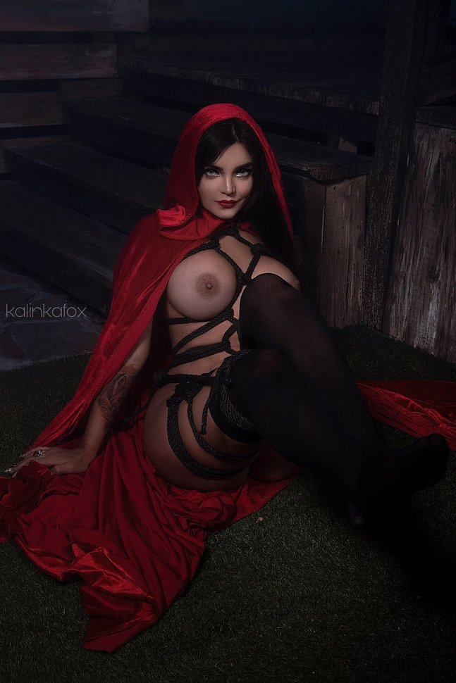 Russian Cosplay: Red Riding Hood by Kalinka Fox (18+)