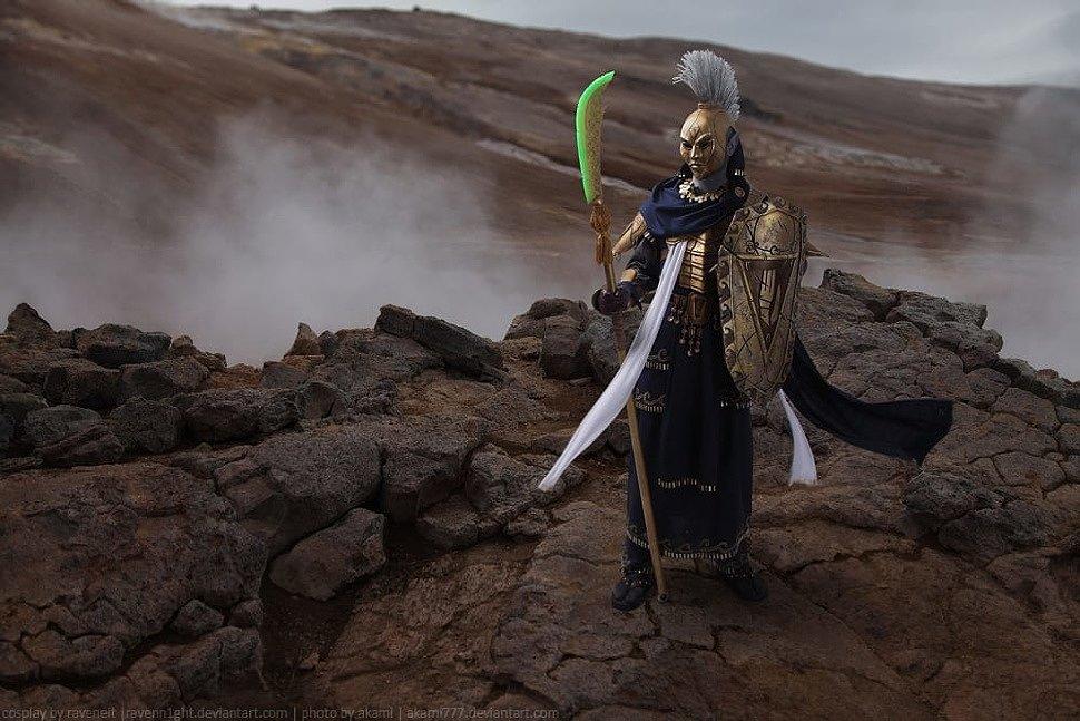 Russian Cosplay: Ordinator (The Elder Scrolls) by Raveneit
