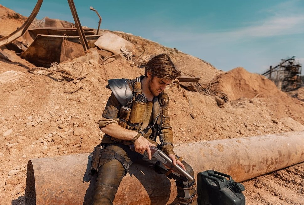 Russian Cosplay: Max (Mad Max: Fury Road)