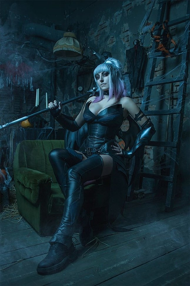 Russian Cosplay: Dusk & Fable (Fortnite) by Aliza & Ksana
