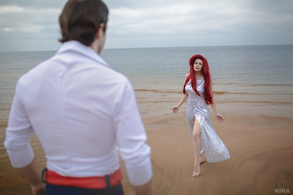 Russian Cosplay: Ariel & Prince Eric (The Little Mermaid)