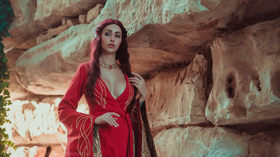 Russian Cosplay: Melisandre (Game of Thrones) by Himera
