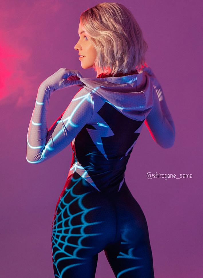[Cosplay] Gwen Stacy (Spider-Man) by shirogane_sama