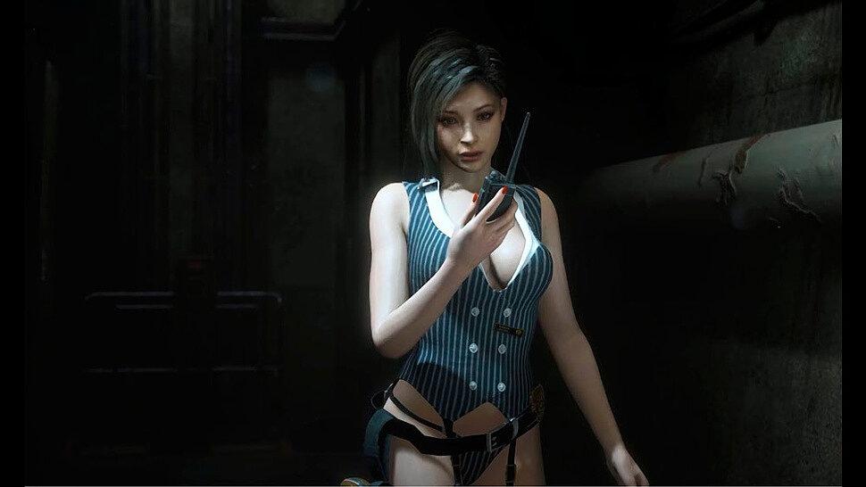 [Fun Video] Ada as Bad Sexy Girl Cop (Resident Evil 2 Remake)
