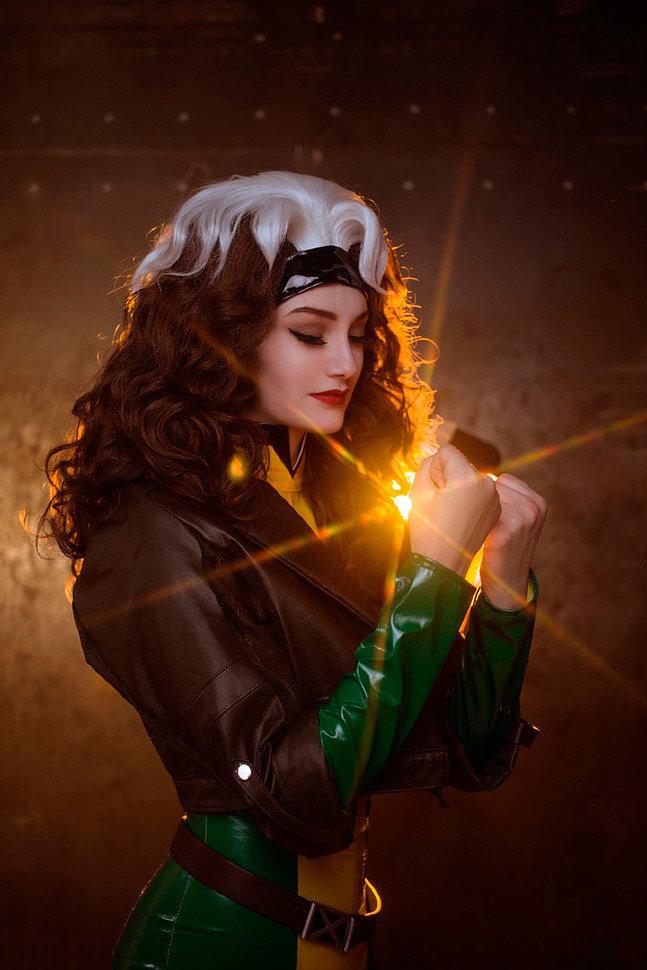 Russian Cosplay: Rogue (X-men) by Vixena Siren
