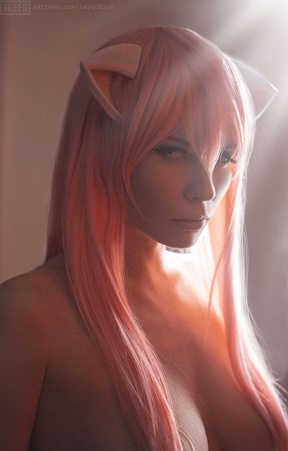 Russian Cosplay: Lucy (Elfen Lied) 18+