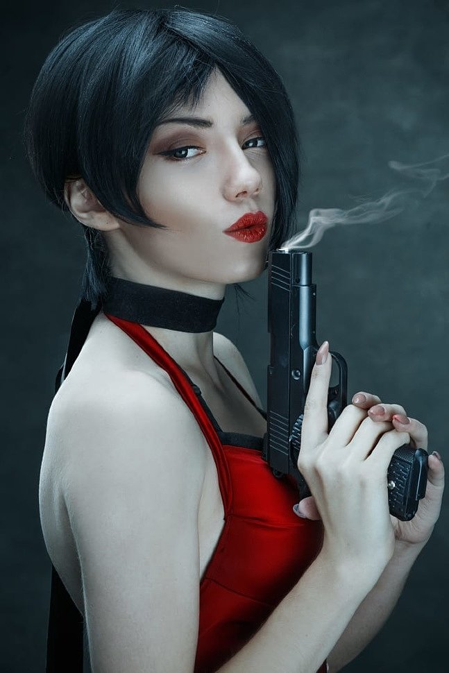 Russian Cosplay: Ada Wong & Leon Kennedy (Resident Evil 2) by Carry & Lucher