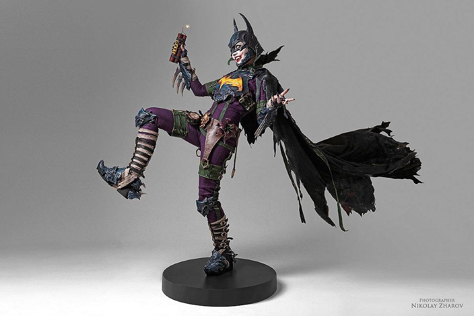 Russian Cosplay: BatJoker (DC Comics)