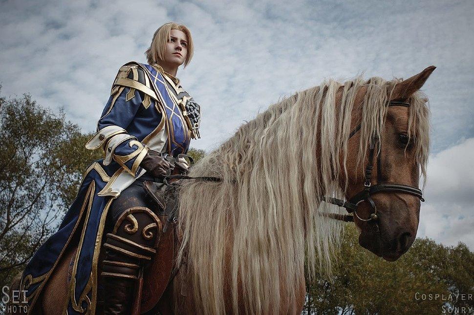 Russian Cosplay: Anduin Wrynn (World of Warcraft)
