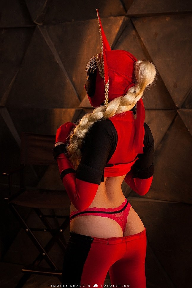 Russian Cosplay: Lady Dead Russian Pool (Marvel) by XenyaMorph