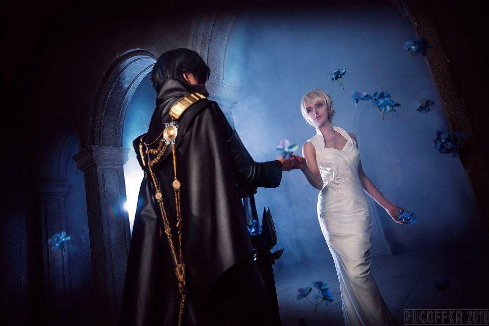 Russian Cosplay: Noctis, Lunafreya (Final Fantasy XV)