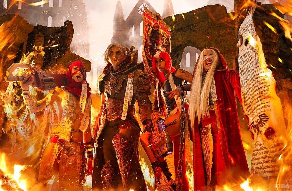 Russian Cosplay: Warhammer 40 000