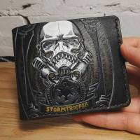 Handmade Star Wars - Stormtrooper & Darth Vader Custom Wallet
