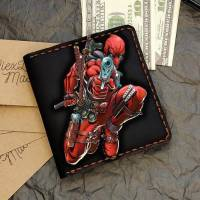 Handmade Marvel - Deadpool Gun Custom Small Wallet