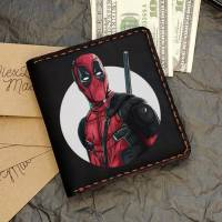 Handmade Marvel - Deadpool Custom Small Wallet