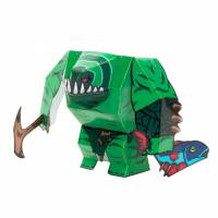 Dota 2 - Tidehunter DIY Paper Craft Kit