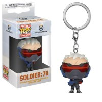 Funko Pocket POP Games: Overwatch - Soldier 76 Keychain