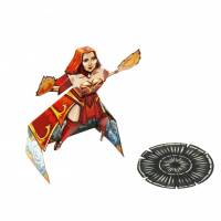 Dota 2 - Lina DIY Paper Craft Kit