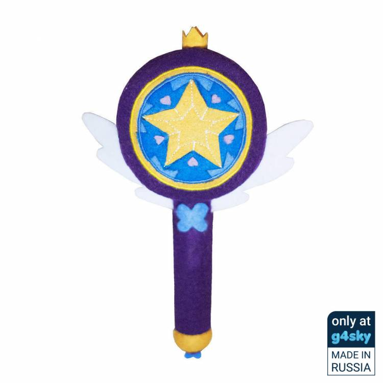 Star vs. the Forces of Evil - Wand Handmade Plush Toy [Exclusive]