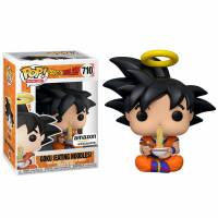 Funko POP Animation: Dragon Ball Z - Goku Eating Noodles (Exc) Figure