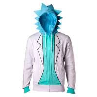 Difuzed Rick and Morty - Rick Men's Zip-Up Hoodie