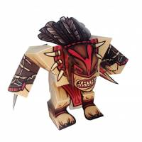 Dota 2 - Bloodseeker DIY Paper Craft Kit