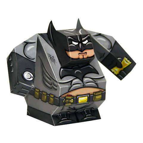 Fatman - Batman DIY Paper Craft Kit