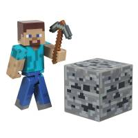 Jazwares Minecraft - Core Steve with Accessory Figure