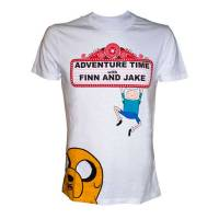 Difuzed Adventure Time - Finn and Jake T-Shirt