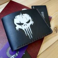 Handmade Marvel - Punisher Logo Custom Wallet