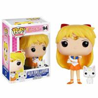 Funko POP Anime: Sailor Moon - Sailor Venus with Artemis Figure