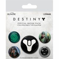 Pyramid International Destiny - Guardians of Light Badge Pack