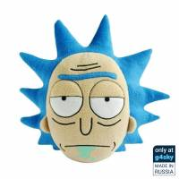 Rick and Morty - Rick Sanchez Handmade Plush Pillow [Exclusive]