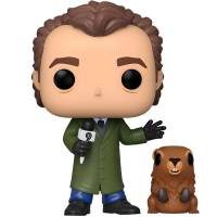 [PRE-ORDER] Funko POP Movies: Groundhog Day - Phil with Punxsutawney Phil Figure