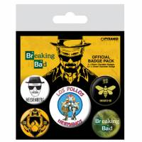 Pyramid International Breaking Bad - Los Pollos Hermanos Badge Pack