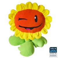Plants vs Zombies - Sunflower Handmade Plush Toy [Exclusive]