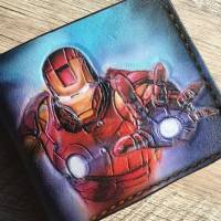 Handmade Marvel - Iron Man & Spider-Man Custom Wallet