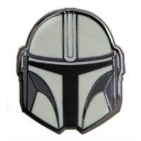 Paladone Star Wars - The Mandalorian Helmet Enamel Pin Badge